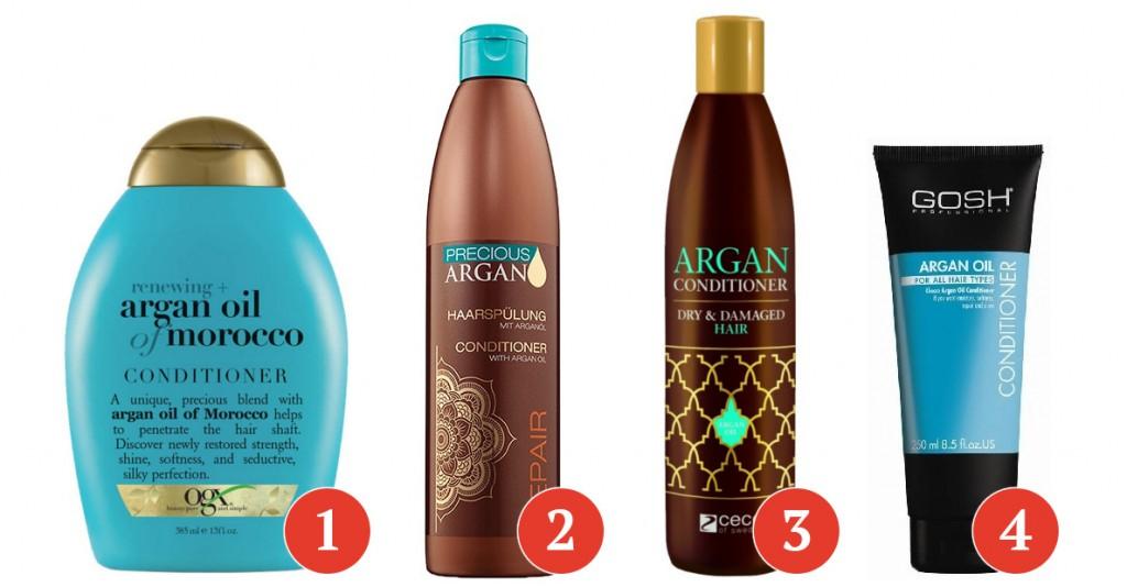 olejek arganowy w odżywkach itp