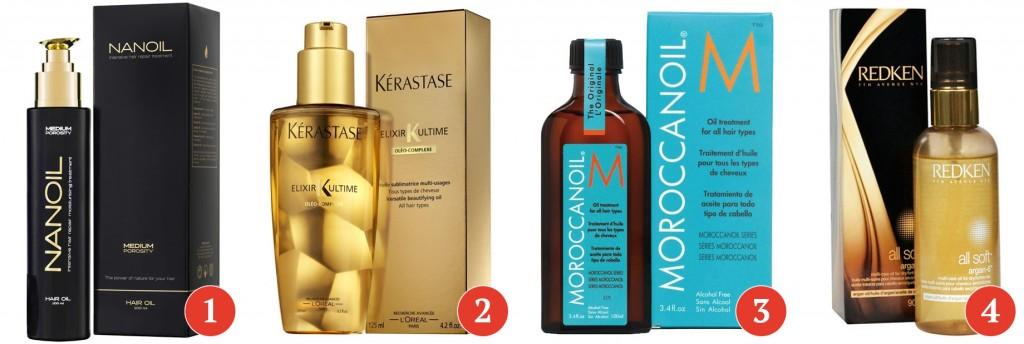 produkty do włosów z olejkiem arganowym