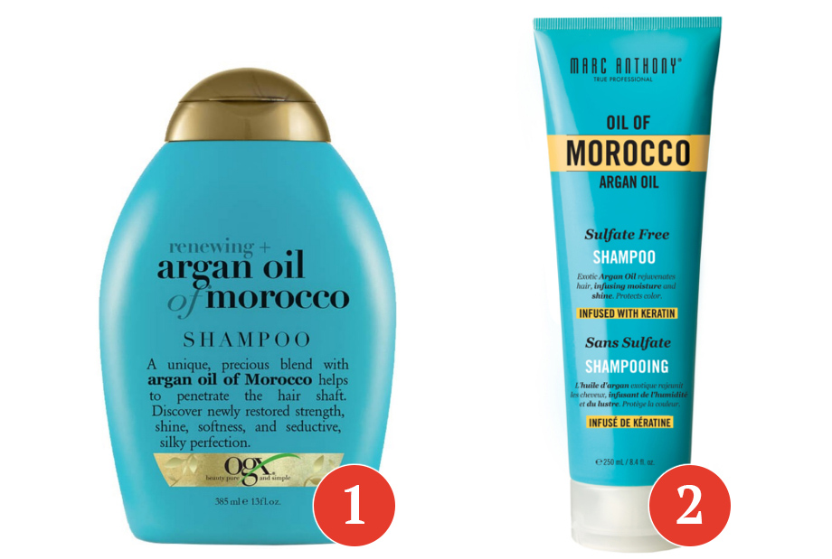 szampony z olejkiem arganowym